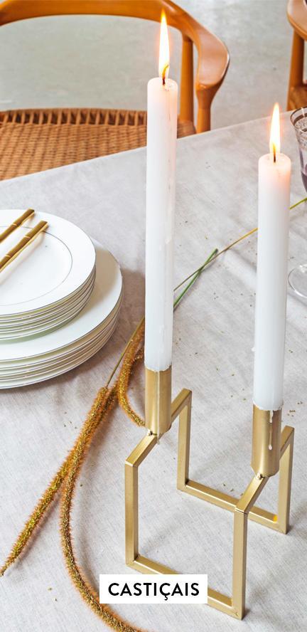 <Castiçais, lanternas e porta-velas | WestwingNow>