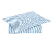 Jogo de Cobre-Leito Essencial Azul - 200 Fios   WestwingNow