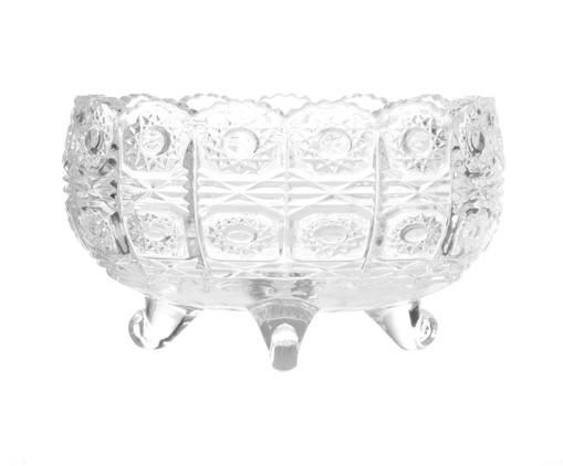 Bowl com Pé em Cristal Starry - Transparente, Transparente | WestwingNow