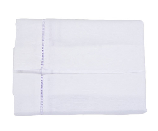 Saia para Cama Box Gorgurinho Palito - Branca, Branco   WestwingNow