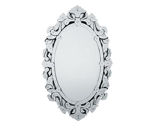 Espelho de Parede Veneziano Dian - Prateado, Espelhado | WestwingNow