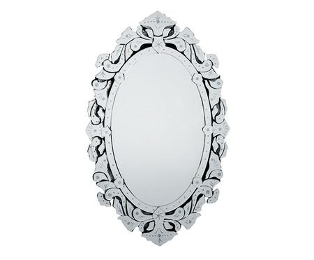 Espelho de Parede Veneziano Dian - Prateado | WestwingNow