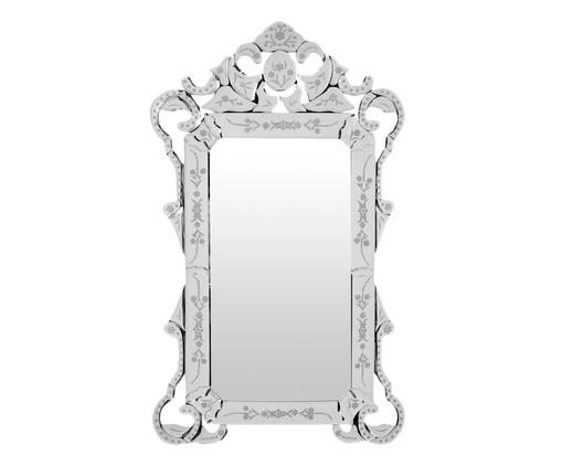 Espelho de Parede Veneziano Lara - Prateado, Espelhado | WestwingNow