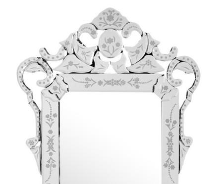 Espelho de Parede Veneziano Lara - Prateado | WestwingNow