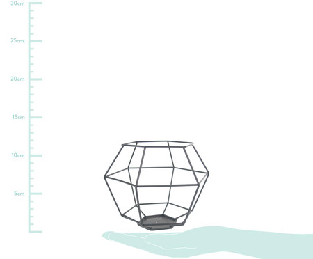 Lanterna Hasia - Preta | WestwingNow
