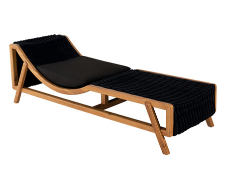 Chaise Flag - Outdoor Preto | WestwingNow