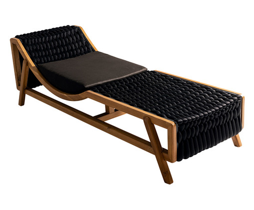 Chaise Flag - Outdoor Preto, Preto | WestwingNow