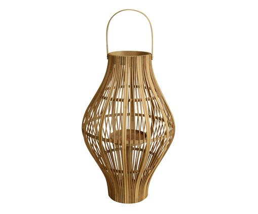 Lanterna de Bambu Elza - Bege, Marrom, Bege | WestwingNow