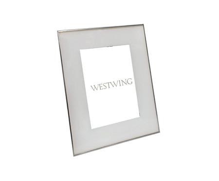 Porta-Retrato Aline - Prateado   WestwingNow