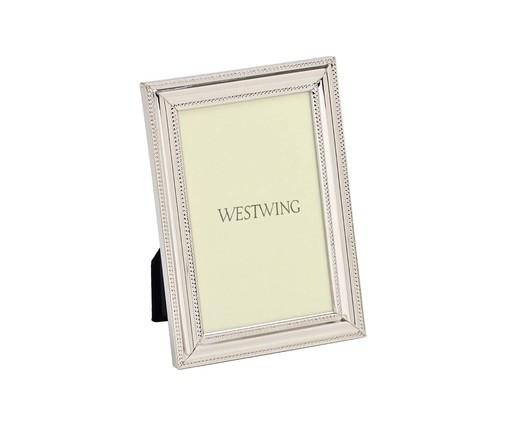Porta-Retrato Bodrum - Prata, Prata   WestwingNow