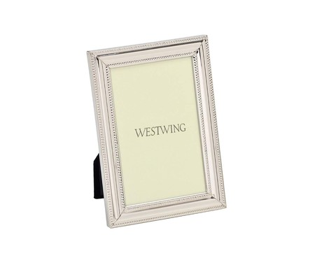 Porta-Retrato Bodrum - Prata | WestwingNow