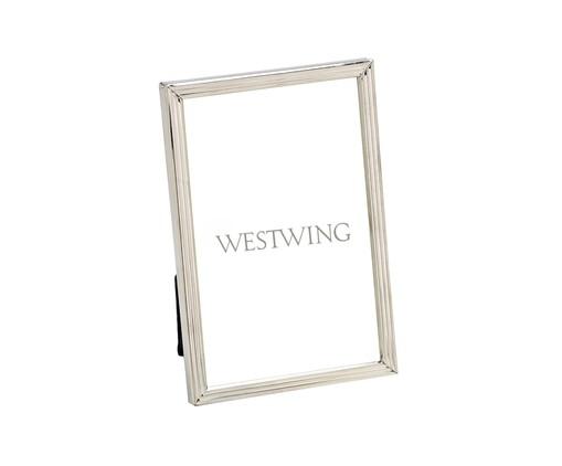 Porta-Retrato Gonen - Prata, Prata | WestwingNow