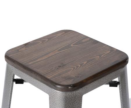 Banqueta com Assento Tolix - Cinza Concreto | WestwingNow