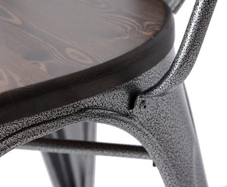 Cadeira com Assento Tolix - Cinza Concreto | WestwingNow