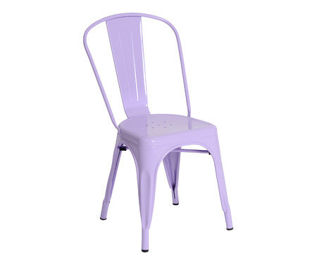 Cadeira Tolix - Lilás   WestwingNow