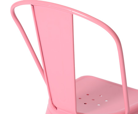 Cadeira Tolix - Rosa Pink | WestwingNow
