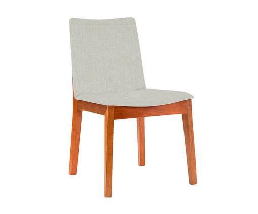 Cadeira em Madeira Bella - Cinza, Cinza | WestwingNow
