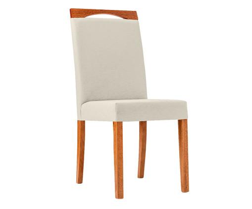 Cadeira em Madeira e Tecido Luana - Cinza, cinza   WestwingNow