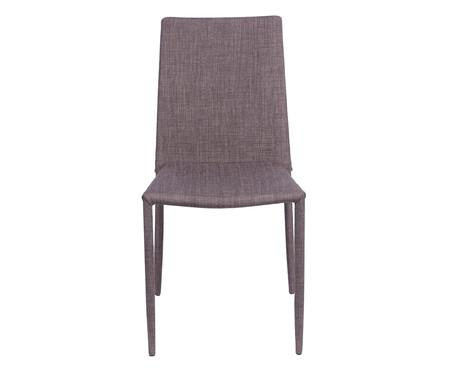 Cadeira de Aço Glam - Marrom | WestwingNow