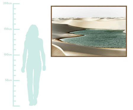Quadro Endless Dunes Sergio Kovacevick - Colorido | WestwingNow
