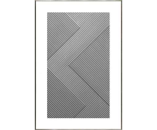 Quadro Blocks  - Bar Design, Cinza e Branco   WestwingNow