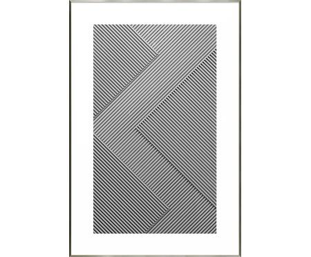 Quadro Blocks - Cinza | WestwingNow