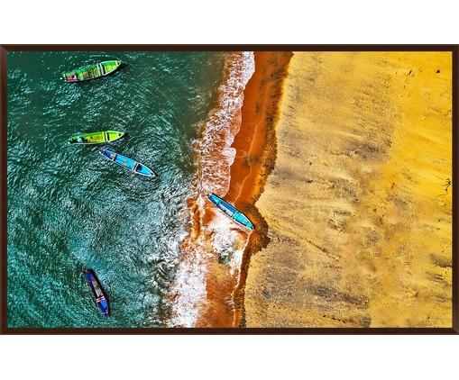 Quadro Serie Aereas Caiaque - Reinaldo Giarola, Multicolorido   WestwingNow