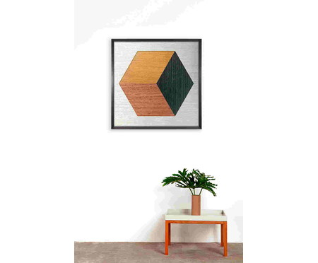 Quadro Hexa Wood ll | WestwingNow