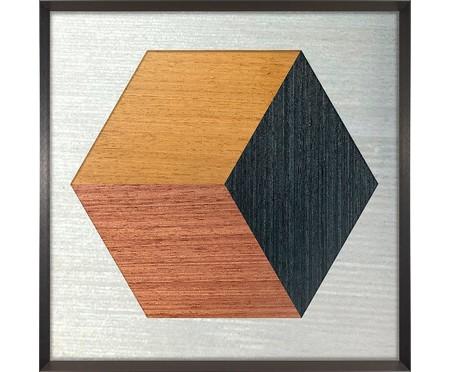 Quadro Hexa Wood ll - Marcio Pontes | WestwingNow