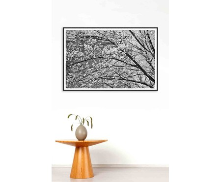 Quadro White Cherry Nova York - Preto e Branco | WestwingNow