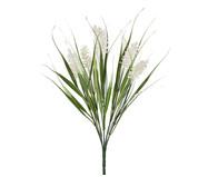 Planta Permanente Buquê Folhas Lavanda - Branco | WestwingNow