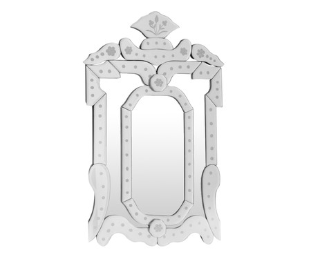 Espelho de Parede Veneziano Janio - Prateado | WestwingNow