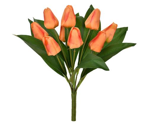 Planta Permanente em Cetim Haste Tulipa - Laranja, Laranja | WestwingNow