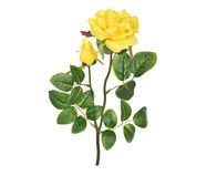 Planta Permanente com Haste Rosa e Botão Amarela | WestwingNow