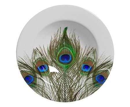 Jogo de Jantar em Cerâmica Eva Estampado - 04 Pessoas   WestwingNow