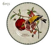 Jogo de Pratos para Sobremesa em Cerâmica Mira - 06 Pessoas | WestwingNow