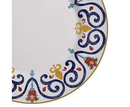 Jogo de Pratos Rasos em Cerâmica Mila - Colorido | WestwingNow