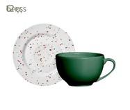Jogo de Xícaras para Café em Cerâmica Carla 06 Pessoas - Estampado | WestwingNow