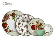 Jogo de Jantar em Cerâmica Mira Estampado - 04 Pessoas | WestwingNow