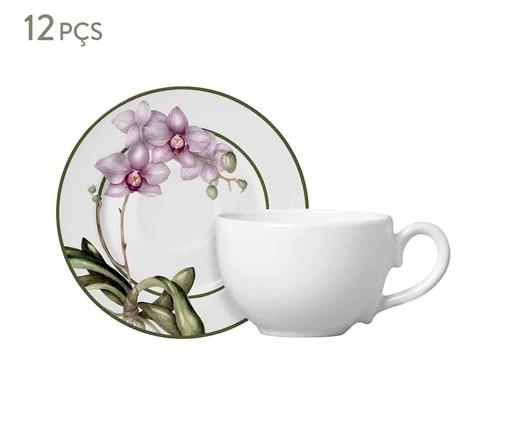 Jogo de Xícaras para Chá  Mia - Estampado, Roxo | WestwingNow