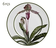Jogo de Pratos para Sobremesa em Cerâmica Mia - Colorido | WestwingNow