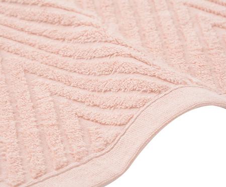 Toalha de Rosto Chevron Mini Air - Rosé | WestwingNow