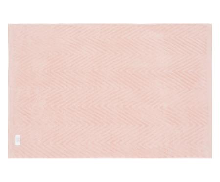 Toalha de Banho Chevron Mini Air - Branco e Preto | WestwingNow