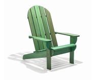 Cadeira Adirondack Michigan com Peseira - Verde   WestwingNow