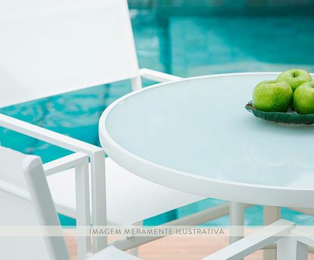 Mesa Cancun Redonda - Branco | WestwingNow