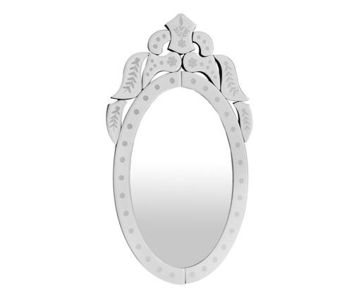 Espelho de Parede Veneziano Noah - Prateado, Espelhado | WestwingNow