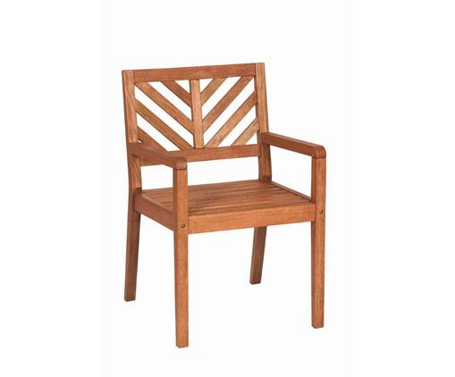 Cadeira Eko com Braços - Nogueira, Marrom   WestwingNow
