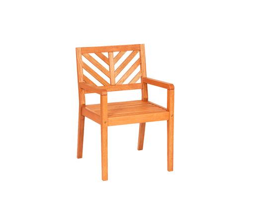 Cadeira Eko com Braços - Jatobá, Marrom   WestwingNow