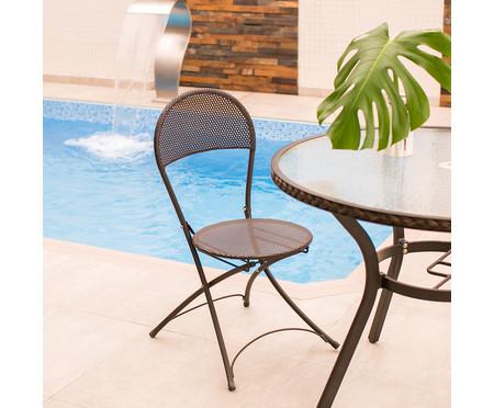 Cadeira Dobrável Paris - Preto | WestwingNow