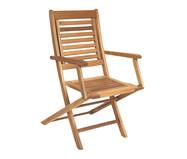 Cadeira Dobrável Parati com Braços - Jatobá   WestwingNow